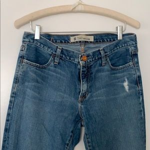 Gap Long and Lean Lightly Distressed Jeans